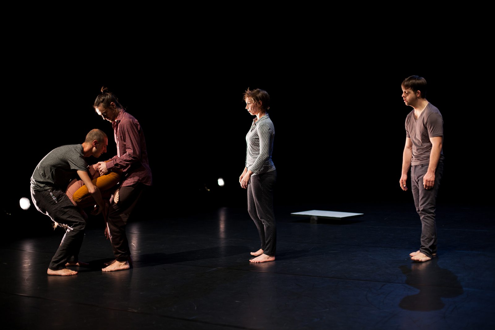 eine Gruppe von TänzerInnen