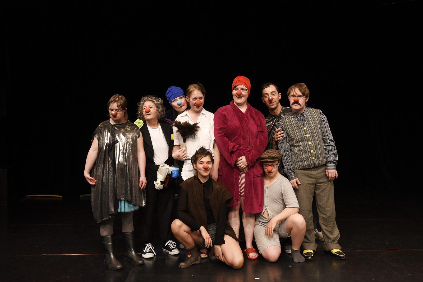 Clownsgruppe