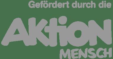 Logo der Aktion Mensch in grau