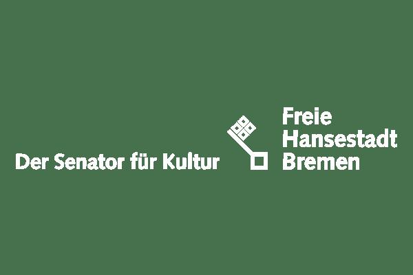 Logo Senator für Kultur in weiß