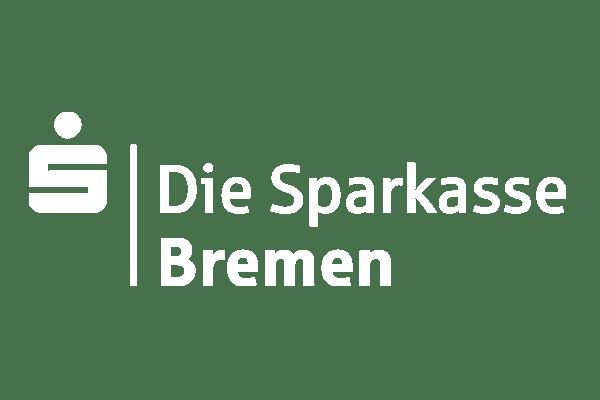 Logo der Sparkasse Bremen in weiß